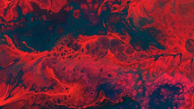 Hepatitis D über Blut ansteckend