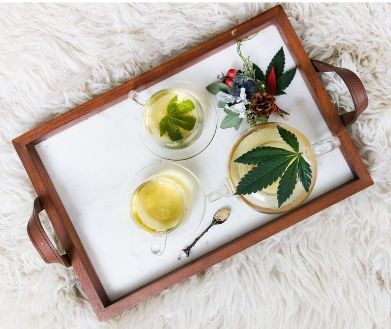 CBD gegen Kopfschmerzen, hier hilft CBD Tee.
